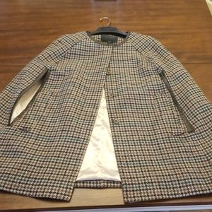 Jcrew Cape coat